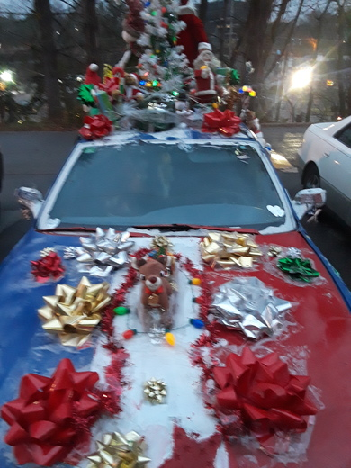 My holiday car