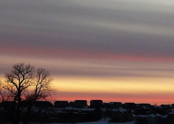 January 3rd Sunset