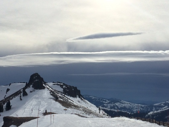 Squaw Valley wind clouds