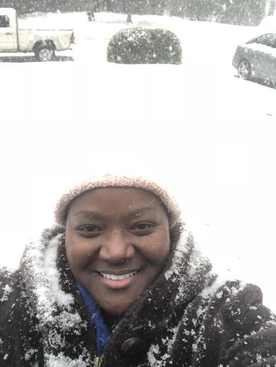 Snow in Georgetown Savannah