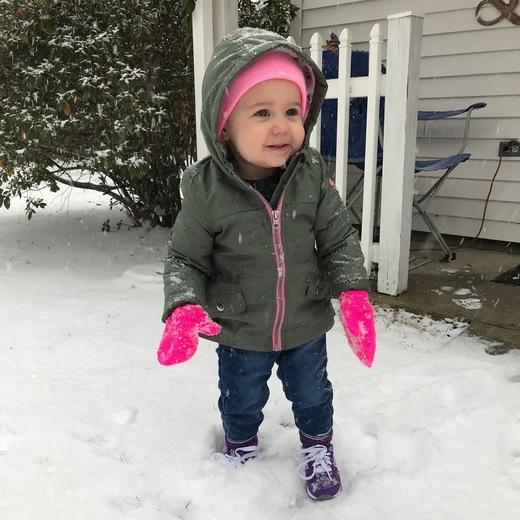 My sweet great granddaughter Charlotte.