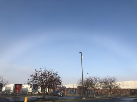Fog Rainbow
