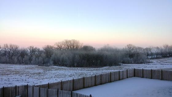 Frozen Fog at Deer Creek