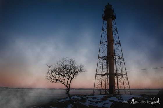 Sea Smoke off Marblehead