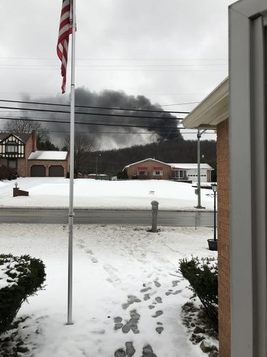 Fire in Finleyville