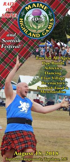 Maine Highland Games and Scottish Festival