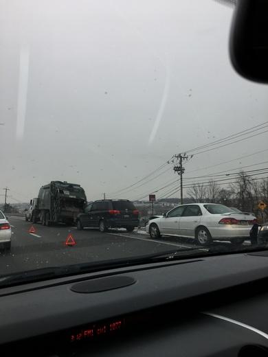 Accident on 322