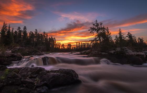 Morning Falls