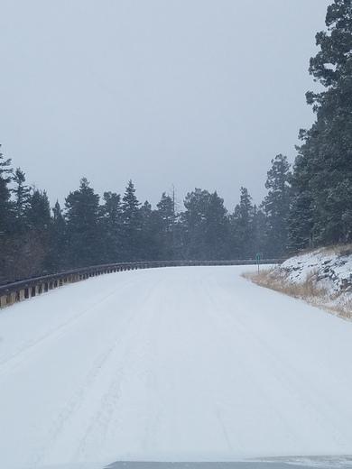 Crest snow