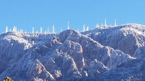 Sandia Mountain Crystal Palace