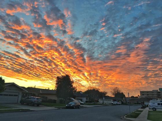 Tonight's Sunset in Salinas