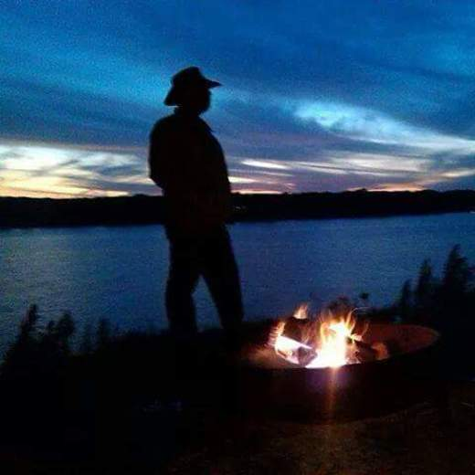 Beautiful Sunset Over Lake Texoma