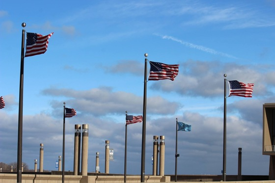 Cold wind at the MKE Lakefront