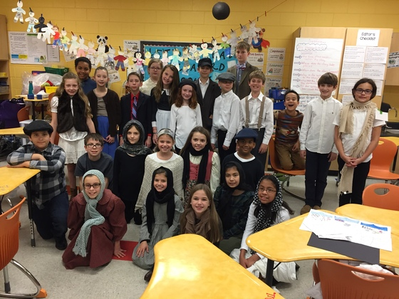 Immigration Day 2018-Mrs. Basanda's Fifth Grade Class, Monarch Elementary