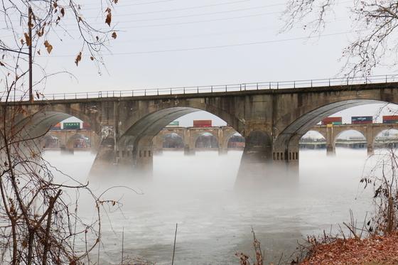 Fog on the Susquehanna