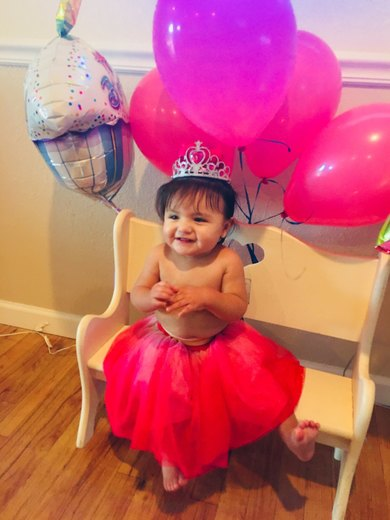 Amaya Joy Martinez First birthday is Jan 17th