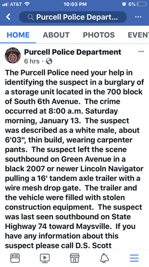 Please help us make people aware and find this person.