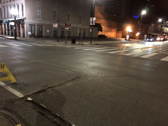 Magazine and poydras st. Hit and run nope still a no show.