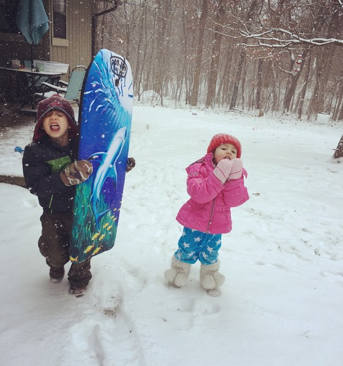 Snow Fun in Bella Vista 2018
