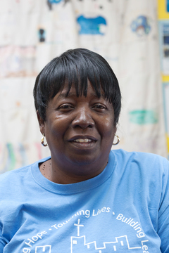 Mrs. Covardis Broadie is the Site Manager at Urban Hope.