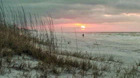 Sunrise Beach Walk on the Gulf