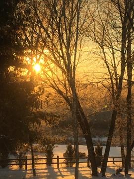 Sunrise in Oconomowoc