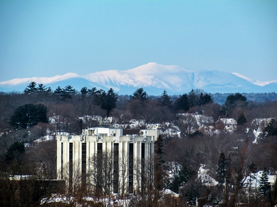 View of Mount Washington from Portland