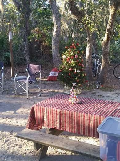 Christmas Camping