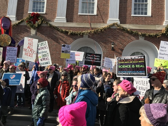 First Anniversary of Women's March