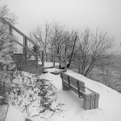 Lanoraie en hiver