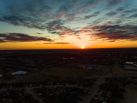 sunset in moore 1 22 18