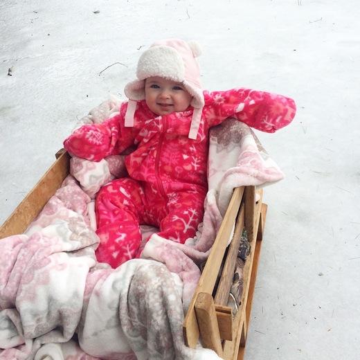 first ice fishing trip !