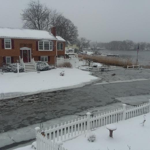 Storm surge photo