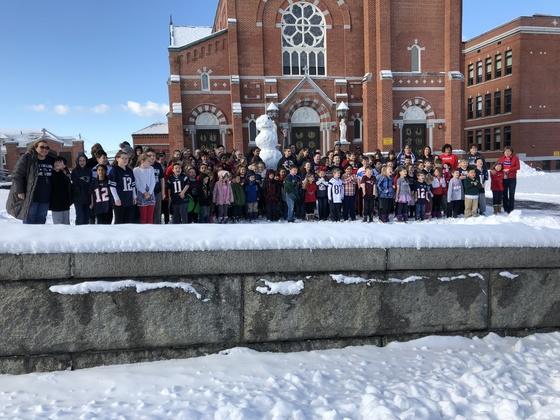 Patriots Day at Holy Family Academy