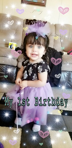 Zoey Lynn Baca's First Birthday 2/4/17