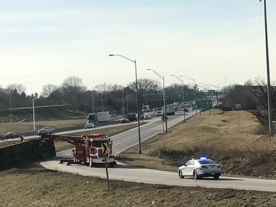 Junction closed 222S at 33West Lancaster