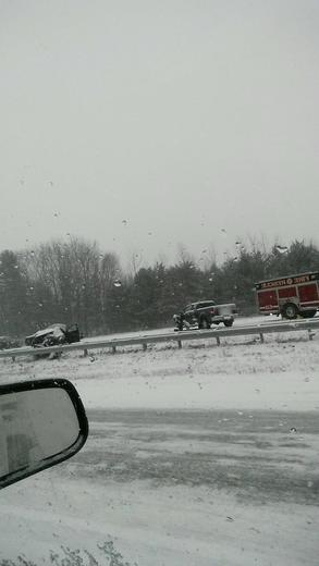 Accident rt 101 Brentwood