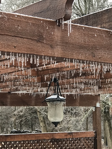Ice in Anderson Township