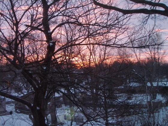 sunrise at south 84th st.