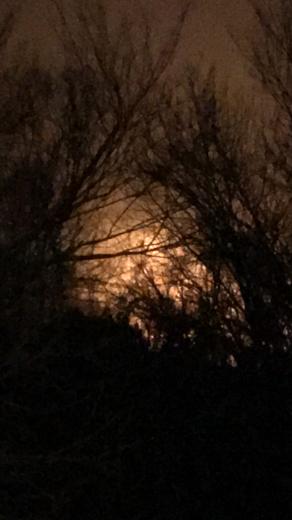 East Norman grass fire
