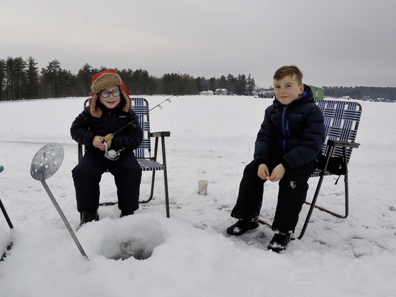 No luck at the Meredith Rotary Club Fishing Derby.