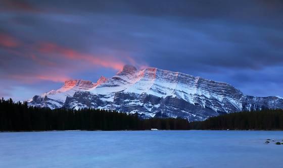 Banff Sunrise Mount Rundle