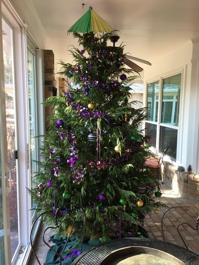 Mama's Recycled Xmas tree