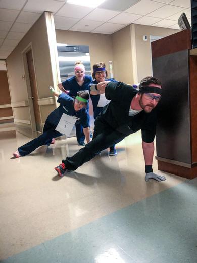 Hospital Winter Olympics 2018