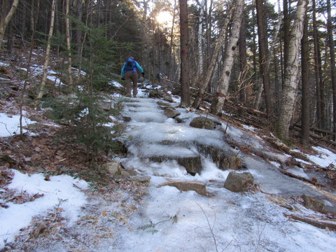 icy trails