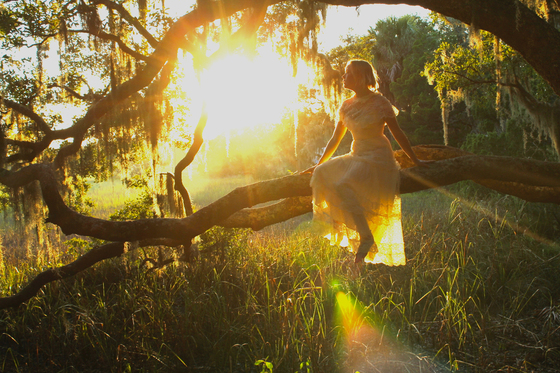 Christina at dusk