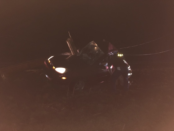 Crash on 741