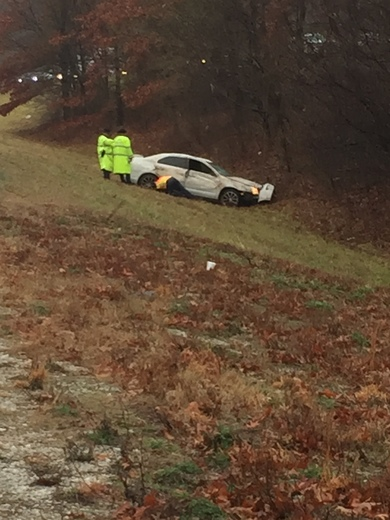 Accident on interstate 49 exit 69 Johnson