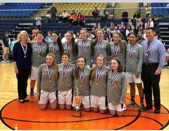2018  SCISA 1A State Champions-Laurens Academy Lady Crusaders