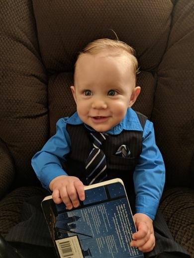 1st Birthday - Ethan